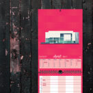 """Kalenderblatt April """"Museum Frieder Burda, Baden-Baden"""""""