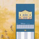 """Kalenderblatt Februar """"Theater, Baden-Baden"""""""