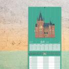 """Kalenderblatt Juli """"Schloss Solms, Baden-Baden"""""""