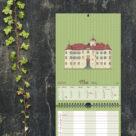 """Kalenderblatt Mai """"Schloss Neuweier"""""""