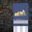 """Kalenderblatt November """"Altes Schloss, Baden-Baden"""""""