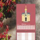 "Kalenderblatt Oktober ""Russische Kirche, Baden-Baden"""